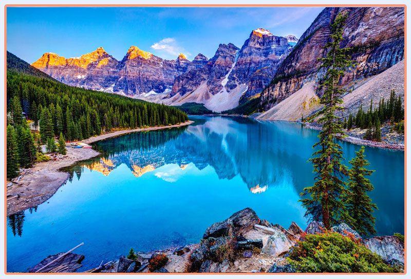 پارک ملی بنف و مناظز بسیار زیبای آن