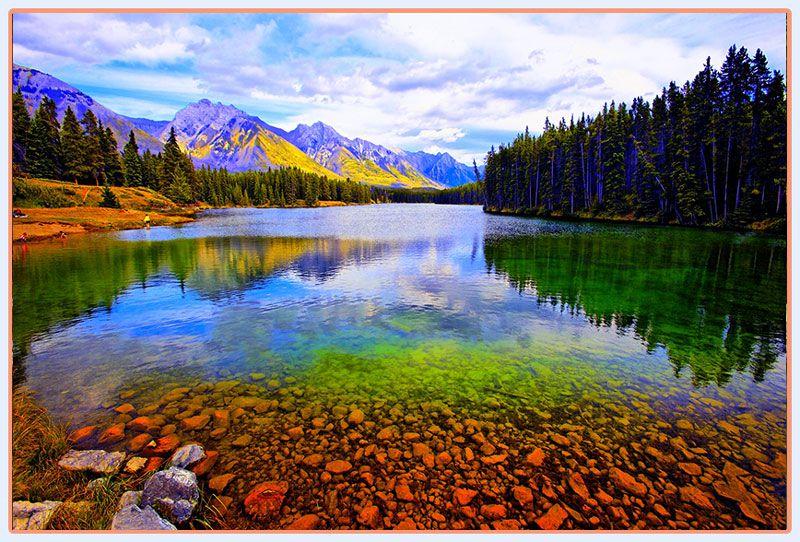 پارک ملی بنف و طبیعت بسیار زیبای آن